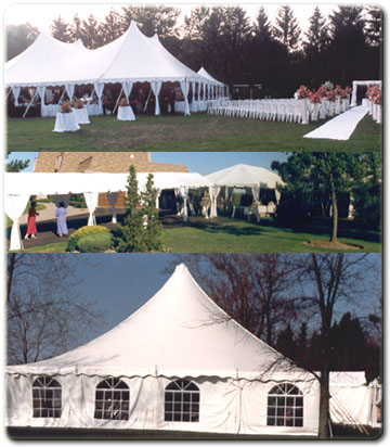 Full range of tents and sidings available